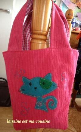sac motif Chat